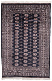 Pakistan Bokhara 2Ply Matto 160X242 Itämainen Käsinsolmittu Musta/Tummanruskea (Villa, Pakistan)
