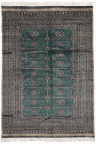 Pakistan Bokhara 2Ply Matto 170X239 Itämainen Käsinsolmittu Musta/Tummanharmaa (Villa, Pakistan)