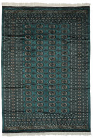 Pakistan Bokhara 2Ply Matto 180X255 Itämainen Käsinsolmittu Musta/Tummanvihreä (Villa, Pakistan)