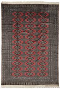 Pakistan Bokhara 2Ply Matto 190X263 Itämainen Käsinsolmittu Musta/Tummanruskea (Villa, Pakistan)