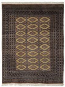 Pakistan Bokhara 2Ply Matto 191X244 Itämainen Käsinsolmittu Musta/Tummanruskea (Villa, Pakistan)