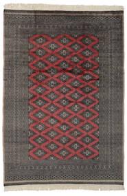 Pakistan Bokhara 2Ply Matto 183X262 Itämainen Käsinsolmittu Musta/Tummanharmaa (Villa, Pakistan)