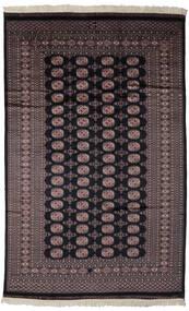 Pakistan Bokhara 2Ply Matto 188X297 Itämainen Käsinsolmittu Musta/Tummanruskea (Villa, Pakistan)