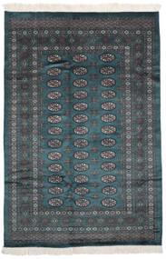 Pakistan Bokhara 2Ply Matto 160X234 Itämainen Käsinsolmittu Musta (Villa, Pakistan)