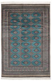 Pakistan Bokhara 2Ply Matto 157X231 Itämainen Käsinsolmittu Musta (Villa, Pakistan)