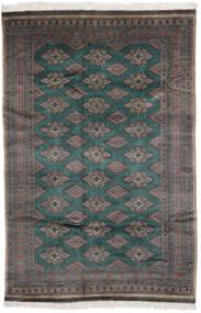 Pakistan Bokhara 3Ply Matto 156X235 Itämainen Käsinsolmittu Musta/Tummanruskea (Villa, Pakistan)