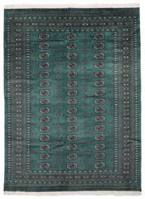 Pakistan Bokhara 2Ply Matto 170X229 Itämainen Käsinsolmittu Musta/Tumma Turkoosi (Villa, Pakistan)