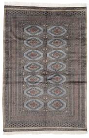 Pakistan Bokhara 2Ply Matto 125X189 Itämainen Käsinsolmittu Musta/Tummanruskea (Villa, Pakistan)