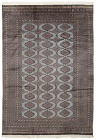 Pakistan Bokhara 2Ply Matto 186X262 Itämainen Käsinsolmittu Musta/Tummanharmaa (Villa, Pakistan)