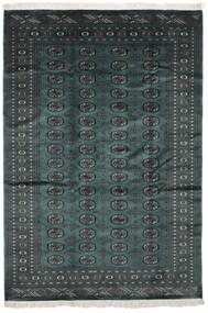 Pakistan Bokhara 2Ply Matto 169X245 Itämainen Käsinsolmittu Musta/Tumma Turkoosi (Villa, Pakistan)