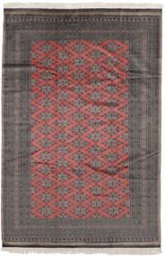 Pakistan Bokhara 2Ply Matto 185X279 Itämainen Käsinsolmittu Musta/Tummanpunainen (Villa, Pakistan)