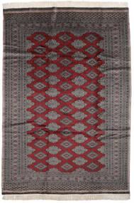 Pakistan Bokhara 2Ply Matto 186X261 Itämainen Käsinsolmittu Musta/Tummanruskea (Villa, Pakistan)