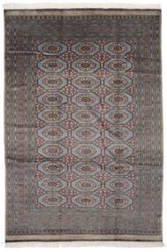Pakistan Bokhara 2Ply Matto 184X270 Itämainen Käsinsolmittu Musta/Tummanharmaa (Villa, Pakistan)