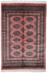 Pakistan Bokhara 3Ply Matto 123X178 Itämainen Käsinsolmittu Tummanpunainen/Musta (Villa, Pakistan)