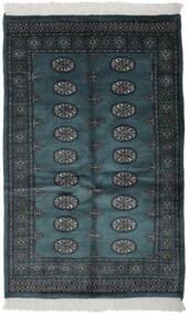 Pakistan Bokhara 3Ply Matto 106X170 Itämainen Käsinsolmittu Musta (Villa, Pakistan)