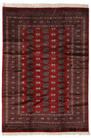 Pakistan Bokhara 3Ply Matto 190X274 Itämainen Käsinsolmittu Musta/Tummanruskea (Villa, Pakistan)