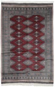 Pakistan Bokhara 3Ply Matto 119X180 Itämainen Käsinsolmittu Musta/Tummanruskea (Villa, Pakistan)