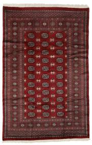 Pakistan Bokhara 3Ply Matto 182X280 Itämainen Käsinsolmittu Musta (Villa, Pakistan)