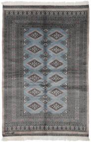 Pakistan Bokhara 3Ply Matto 121X177 Itämainen Käsinsolmittu Musta/Tummanharmaa (Villa, Pakistan)