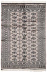 Pakistan Bokhara 2Ply Matto 125X189 Itämainen Käsinsolmittu Tummanharmaa/Musta (Villa, Pakistan)