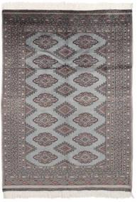 Pakistan Bokhara 2Ply Matto 125X176 Itämainen Käsinsolmittu Musta/Tummanharmaa (Villa, Pakistan)