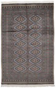 Pakistan Bokhara 2Ply Matto 125X191 Itämainen Käsinsolmittu Musta/Tummanruskea (Villa, Pakistan)