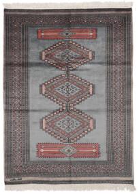 Pakistan Bokhara 2Ply Matto 125X170 Itämainen Käsinsolmittu Musta/Tummanharmaa (Villa, Pakistan)