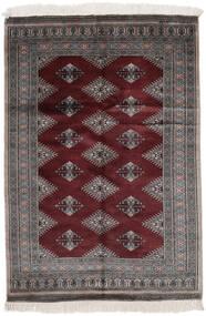 Pakistan Bokhara 2Ply Matto 125X180 Itämainen Käsinsolmittu Musta (Villa, Pakistan)