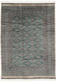 Pakistan Bokhara 3Ply Matto 175X240 Itämainen Käsinsolmittu Musta/Tummanharmaa (Villa, Pakistan)