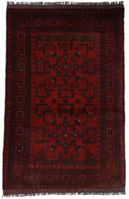 Afghan Khal Mohammadi Matto 95X146 Itämainen Käsinsolmittu Musta (Villa, Afganistan)
