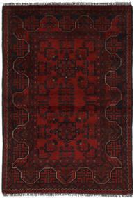 Afghan Khal Mohammadi Matto 96X141 Itämainen Käsinsolmittu Musta (Villa, Afganistan)