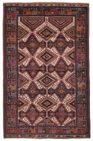 Beluch Matto 187X290 Itämainen Käsinsolmittu Musta/Tummanruskea (Villa, Afganistan)