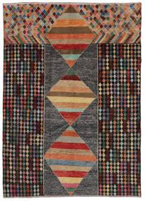Moroccan Berber - Afghanistan Matto 209X293 Moderni Käsinsolmittu Musta/Tummanruskea (Villa, Afganistan)