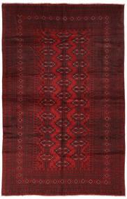 Beluch Matto 190X293 Itämainen Käsinsolmittu Musta/Tummanpunainen (Villa, Afganistan)