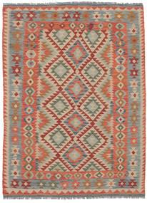 Kelim Afghan Old Style Matto 150X203 Itämainen Käsinkudottu Tummanruskea/Tummanharmaa (Villa, Afganistan)