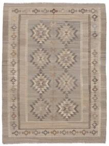 Kelim Afghan Old Style Matto 153X205 Itämainen Käsinkudottu Ruskea/Tummanruskea (Villa, Afganistan)