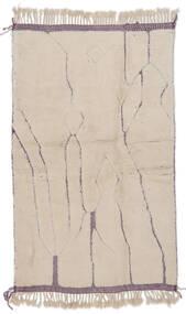 Berber Moroccan - Beni Ourain Matto 214X288 Moderni Käsinsolmittu Vaaleanruskea/Vaaleanharmaa (Villa, Marokko)