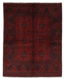 Afghan Khal Mohammadi Matto 153X190 Itämainen Käsinsolmittu Musta/Beige (Villa, Afganistan)