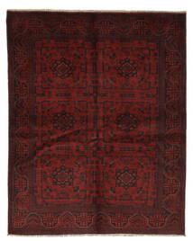 Afghan Khal Mohammadi Matto 148X187 Itämainen Käsinsolmittu Musta/Beige (Villa, Afganistan)