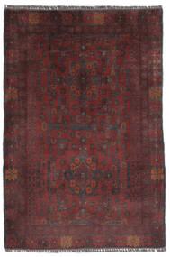 Afghan Khal Mohammadi Matto 80X120 Itämainen Käsinsolmittu Musta (Villa, Afganistan)