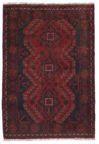 Afghan Khal Mohammadi Matto 81X120 Itämainen Käsinsolmittu Musta (Villa, Afganistan)