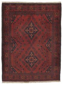 Afghan Khal Mohammadi Matto 82X110 Itämainen Käsinsolmittu Musta/Tummanruskea (Villa, Afganistan)