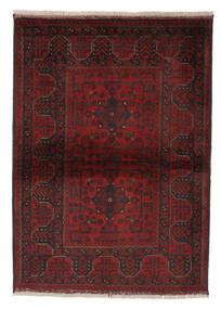Afghan Khal Mohammadi Matto 105X146 Itämainen Käsinsolmittu Musta/Beige (Villa, Afganistan)