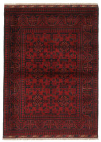 Afghan Khal Mohammadi Matto 107X148 Itämainen Käsinsolmittu Musta (Villa, Afganistan)