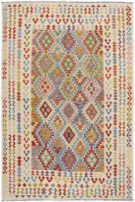Kelim Afghan Old Style Matto 198X293 Itämainen Käsinkudottu (Villa, Afganistan)