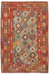 Kelim Afghan Old Style Matto 198X292 Itämainen Käsinkudottu (Villa, Afganistan)