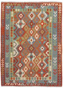 Kelim Afghan Old Style Matto 174X240 Itämainen Käsinkudottu (Villa, Afganistan)