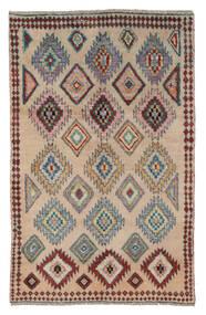 Moroccan Berber - Afghanistan Matto 116X186 Moderni Käsinsolmittu Ruskea/Tummanruskea (Villa, Afganistan)