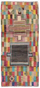 Moroccan Berber - Afghanistan Matto 83X185 Moderni Käsinsolmittu Käytävämatto Ruskea/Tummanpunainen (Villa, Afganistan)