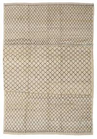 Moroccan Berber - Afghanistan Matto 210X293 Moderni Käsinsolmittu Vaaleanruskea/Tummanruskea (Villa, Afganistan)